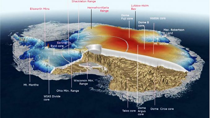 Antarctica Melting from Beneath & Volcanoes Begin Steaming Under Greenland  – Hasslefree Allsort