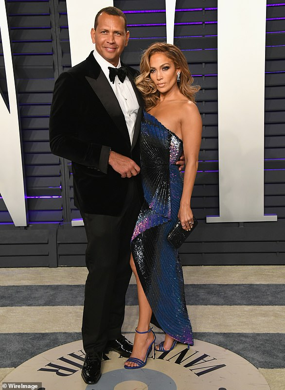 Finding love: Jennifer Lopez's romantic life has been a road filled with rocky passages and sharp turns after splitting fromfiancé Alex Rodriguez (pictured in 2019)