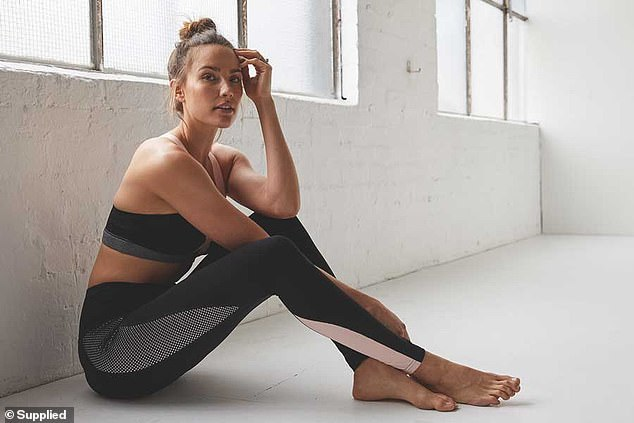 She means business! Rachael currently runs her own fitness empire, which consists of an online workout app and an activewear line