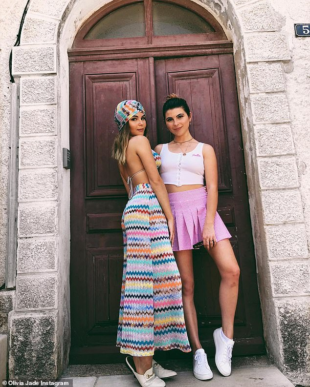 And her sister may be hurt too: The beauty with her brunette sister