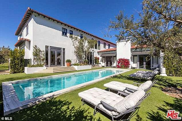 So fancy:The family lives in a sprawling mansion in the hills near Hollywood and drive fancy sports cars like Porsches