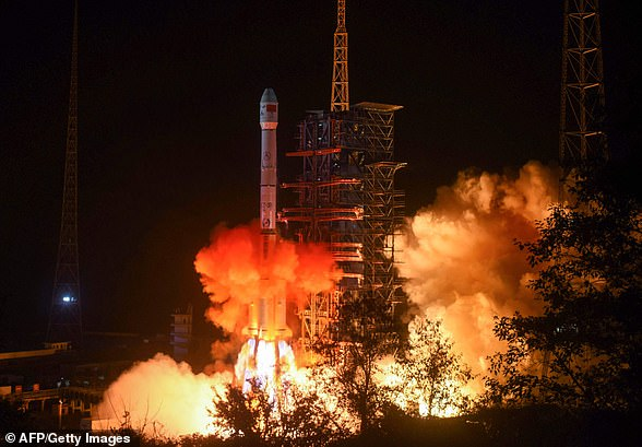The Chang'e-4 lunar rover is lifted into spacefrom the Xichang launch centre in China's southwestern Sichuan province on December 7
