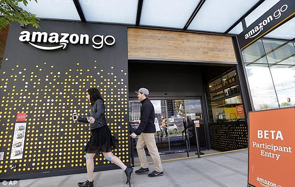 Amazon's first Go Store opened in Seattle earlier this year and are looking to expand and open stores in Chicago and San Francisco