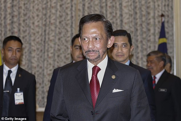Sultan Hassanal Bolkiah, (pictured), rules Brunei and ownsnine hotels in the U.S. and Europe