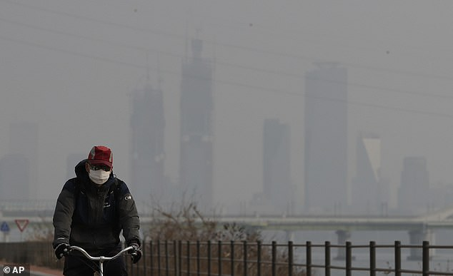 The artificial rain project involves a plan to create precipitation over the Yellow Sea between China and South Korea. The spike in air pollution is thought to stem from China's industrial activity and emissions from South Korean cars