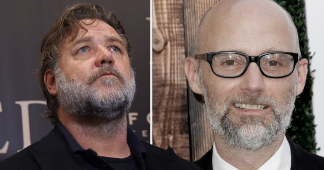 Russell Crowe screamed at Moby in a bathroom