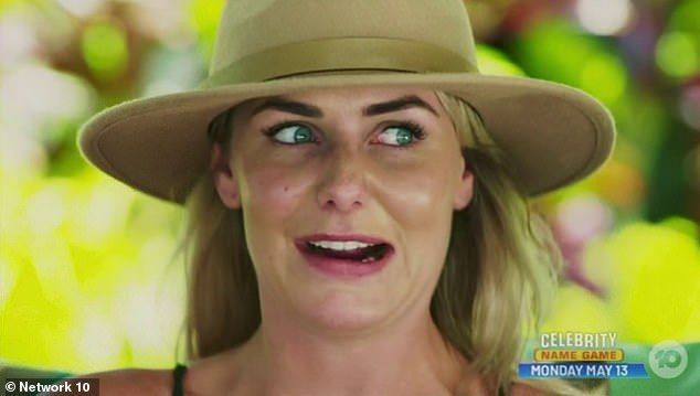 Burying the hatchet: In a comment underneath the post, Elora's rival and co-star Florence Moerenhout (pictured) apologised for the way she had spoken about the Tahitian beauty during her short tenure on Bachelor In Paradise this week