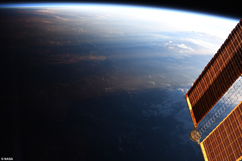 Astronauts aboard the ISS have shared numerous pictures of their view of Earth from space. In May, NASA released detailed image showing a view of the Earth transitioning from day into night, which was shot Christina Koch