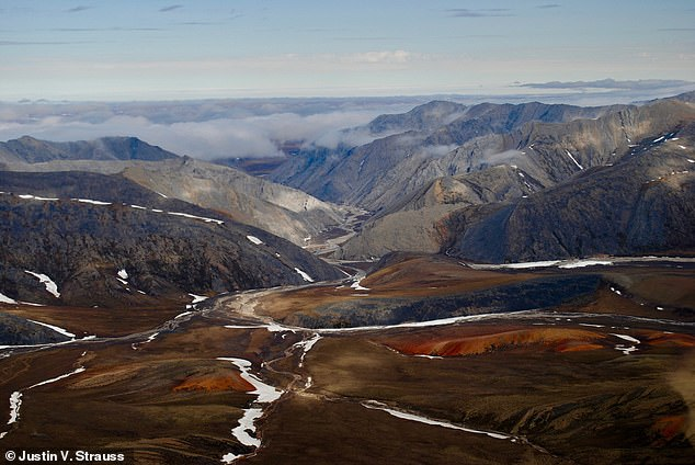 A new study of a remote region in the Arctic may rewrite the geological history and change estimates of fossil fuels that lie beneath the surface