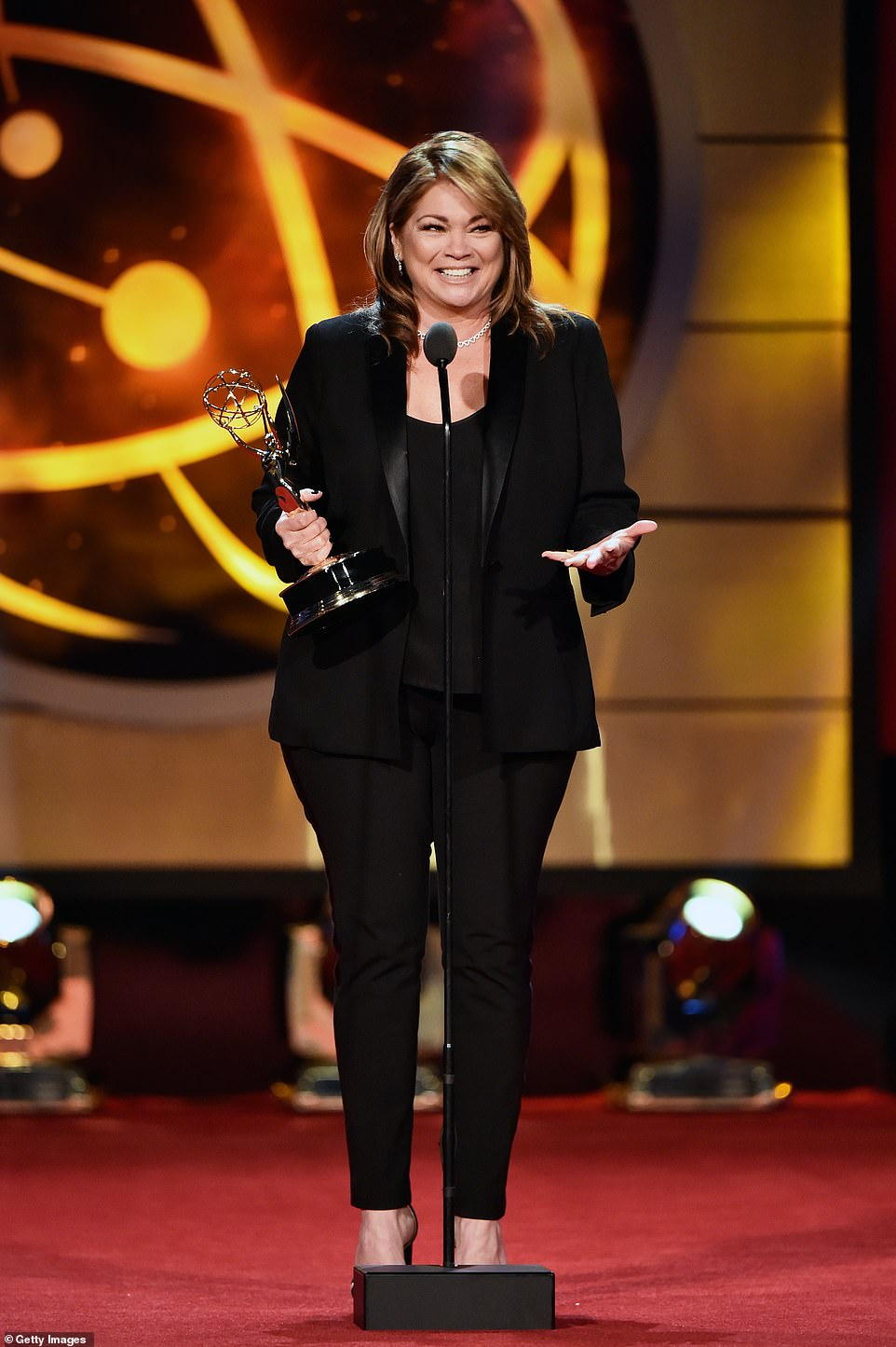A winning recipe! Valerie Bertinelli show, Valerie's Home Cooking, was the recipient of Outstanding Culinary Host and Outstanding Culinary Program