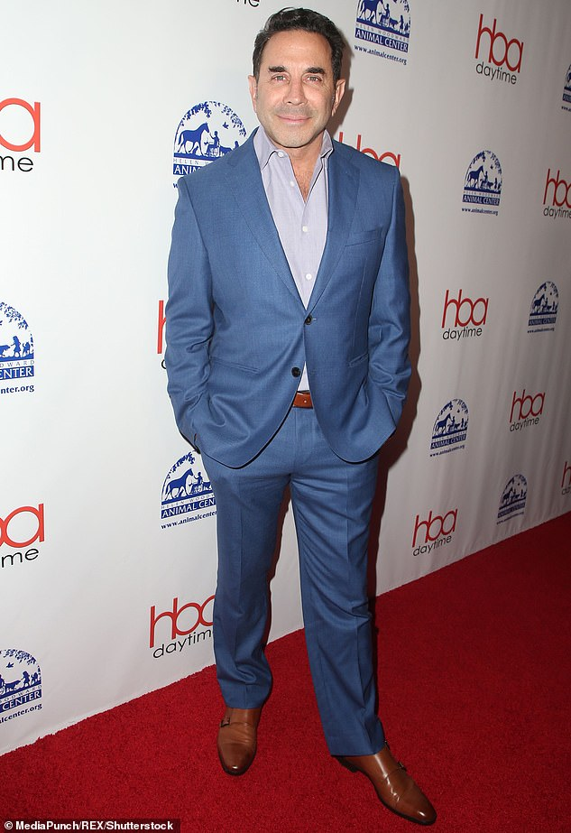 On the red carpet: Botched's Dr. Paul Nassif, 65, was snapped in LA last fall