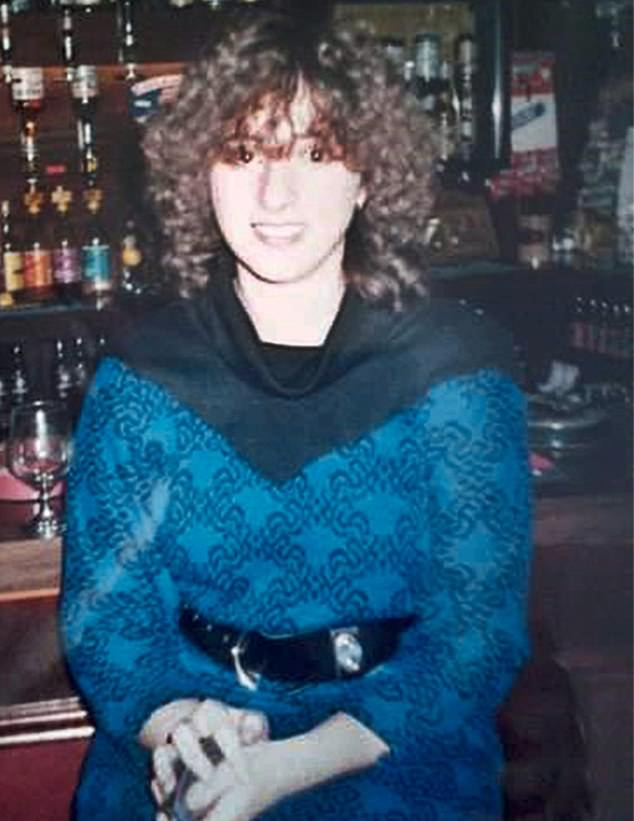 What began as a diet to lose her post-pregnancy weight in 1994 quickly spiralled into a life-threatening illness. Now, 25 years on, it has destroyed more than half of Angela's life. (She is pictured aged 18 - before she developed anorexia)