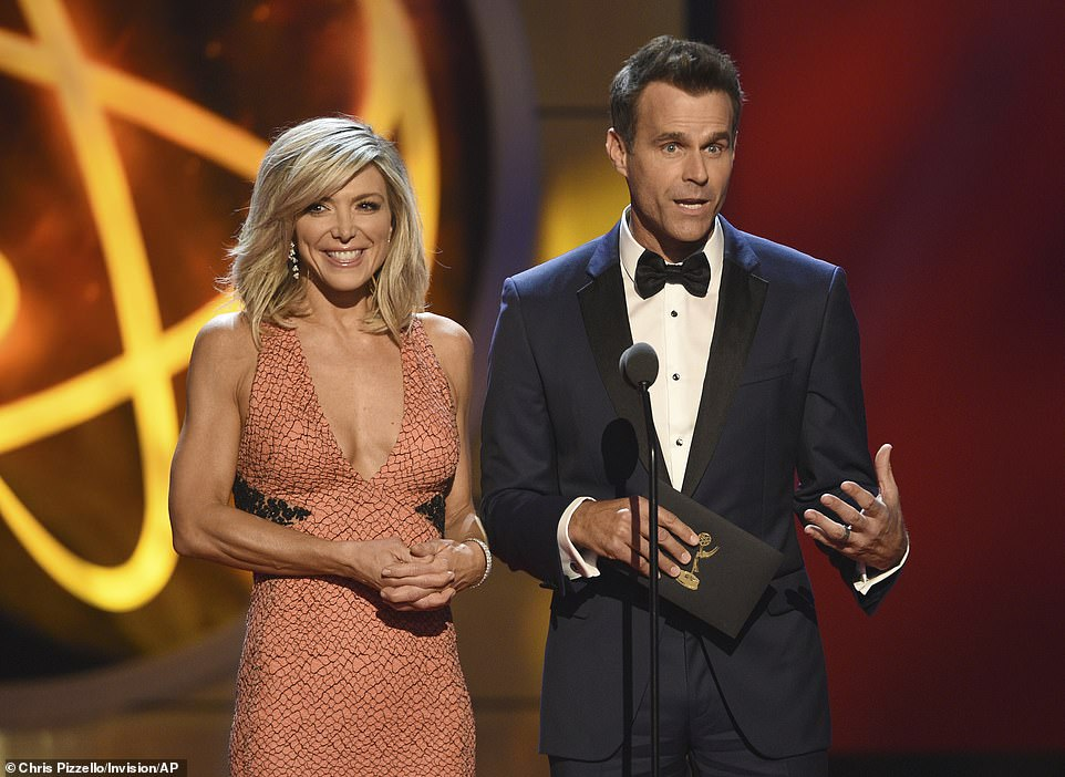 Home sweet home: Home & Family hosts Debbie Matenopoulos and Cameron Mathison were among the presenters