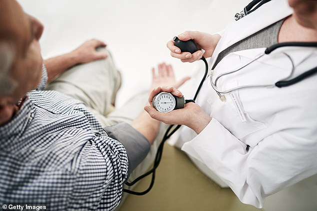 About one-in-five Americans has 'white coat hypertension,' meaning their blood pressure soars when they're in a doctor's office. A new study suggests even this isolated incidence of hypertension predicts a two-fold greater risk of dying of heart disease (file)