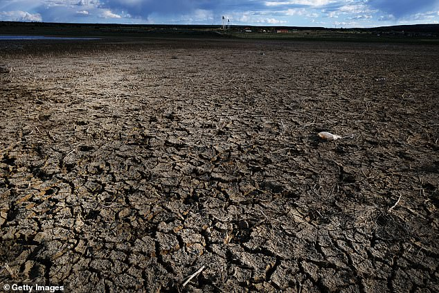 Scientists hope the fresh water could help combat extreme drought in regions like California which has witnessed soaring average temperatures. File photo