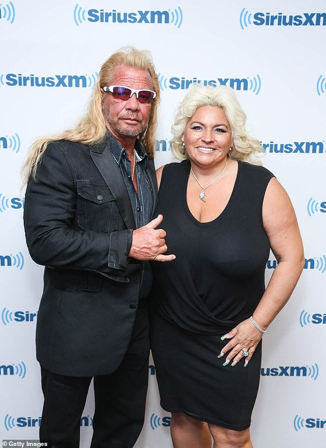 Hard at work: The power couple starred in a spin-off series, Dog and Beth: On the Hunt in August 2015, and a two-hour special called Dog and Beth: Fight of Their Lives just recently in November; seen in 2015