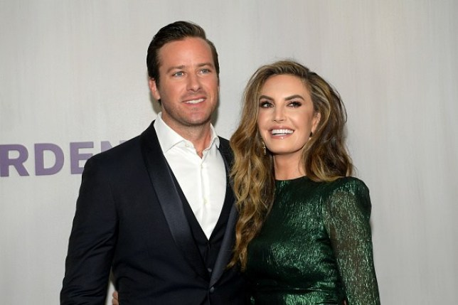 Armie Hammer and wife Elizabeth Chambers Hammer
