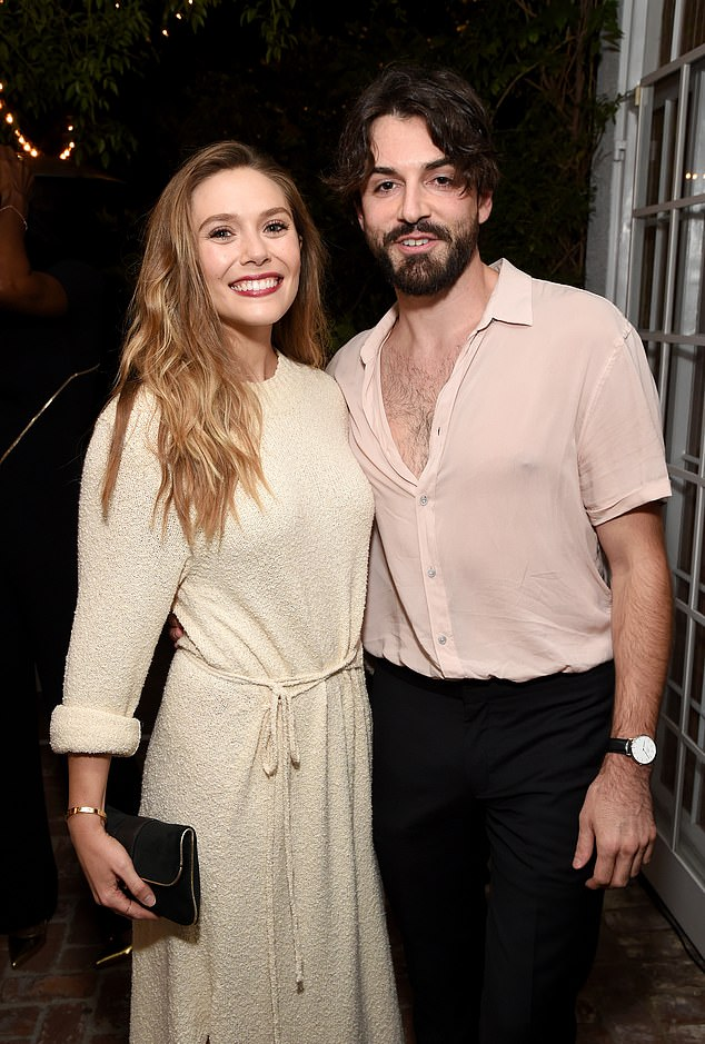 Fiances: Elizabeth Olsen is newly engaged to her boyfriend Robbie Arnett sources confirmed the budding nuptials to People on Tuesday