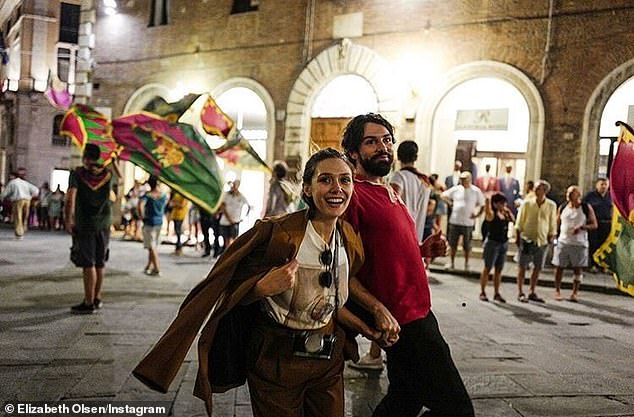 Us in IT: They also vacationed to Italy in another rare photo she shared to social media