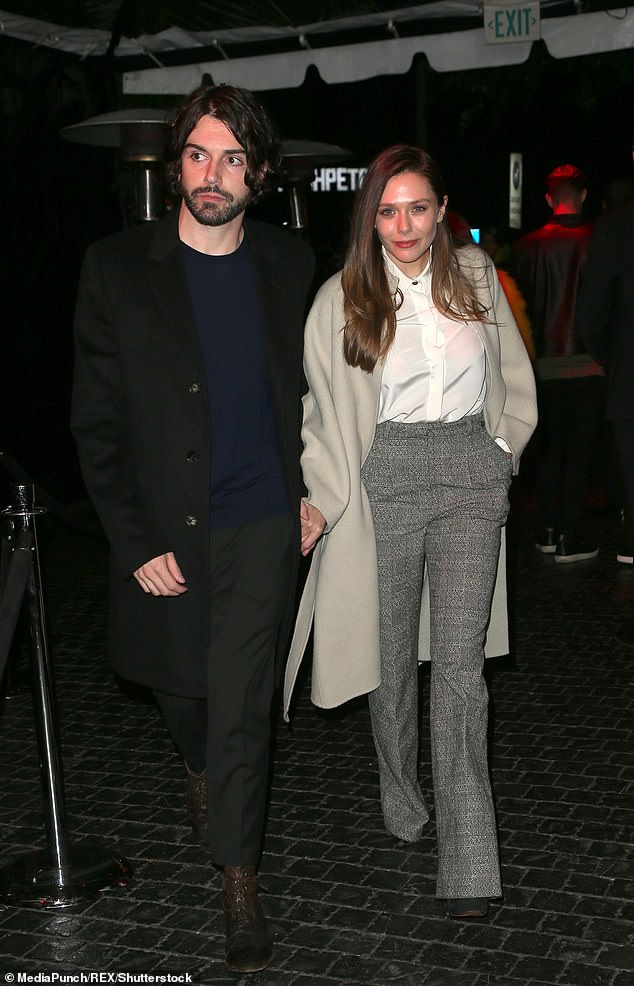 Successful duo: Arnett is a co-lead singer of indie band Milo Greene,Olsen starred in the biggest blockbuster of the year Avengers: Endgame and is set to star in Marvel's Disney+ TV show WandaVision, in 2021