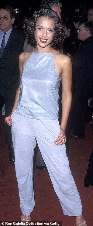 Dark Angel:Alba had appearances in shows in the mid 90's but gained more recognition appearing in the TV show Dark Angel in the early 200's and since has had a successful career on the big and small screen (pictured 1999)