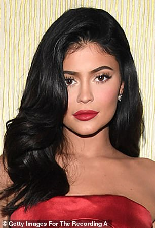 Made up: Kylie Jenner will likely still be hocking her beauty brand as an old lady