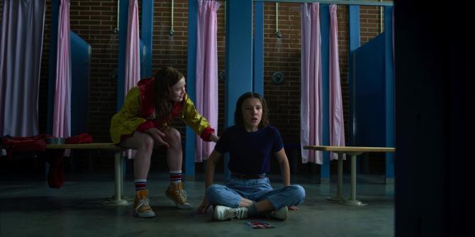 Stranger Things Season 3 Episode 4 The Sauna Test