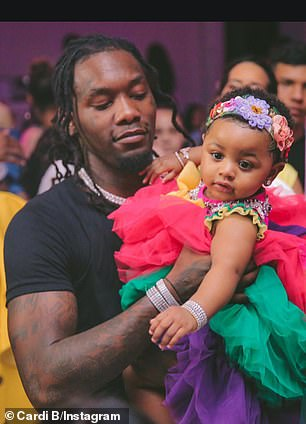 The Love & Hip Hop: New York alum lamented: 'He always witnesses the good s***! My baby starting to walk already. I can't take it. I can't take it' (pictured July 14)