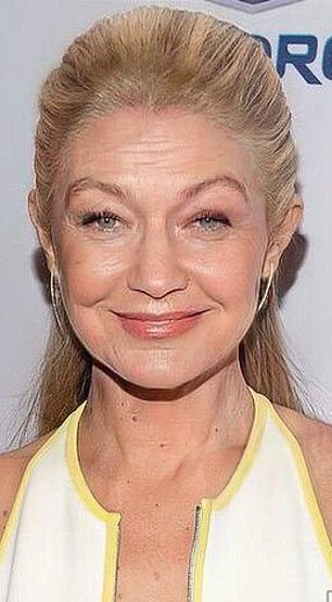 Ageing: Gigi Hadid's fast-forward picture is probably an accurate reflection of what her mom Yolanda will look like in a few decades, too