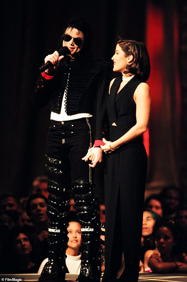 She has sealed her lips in the past:If she does dish on Jackson, who she was often affectionate with in public, it will be a first. Holding hands at the1994 MTV Video Music Awards