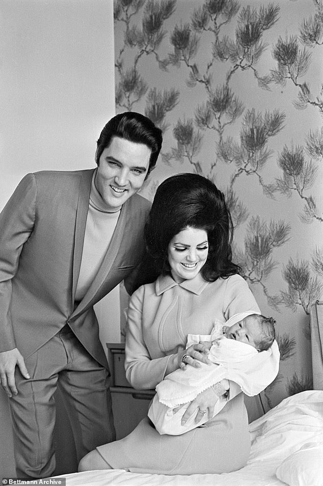 Good dad?The book 'promises shocking revelations about Jackson,' a source told the New York Post. It will also shed a new light on her father Elvis, known for hits such as Viva Las Vegas