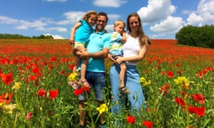 Gréta Klibán and family