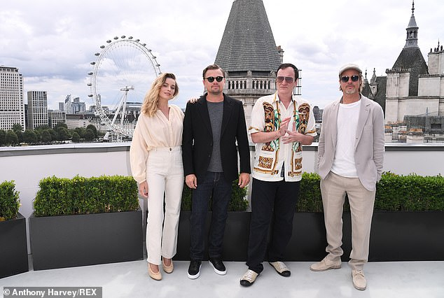 More to come: Once Upon A Time in Hollywood has already been released in the US and is slated for release in the UK on August 15