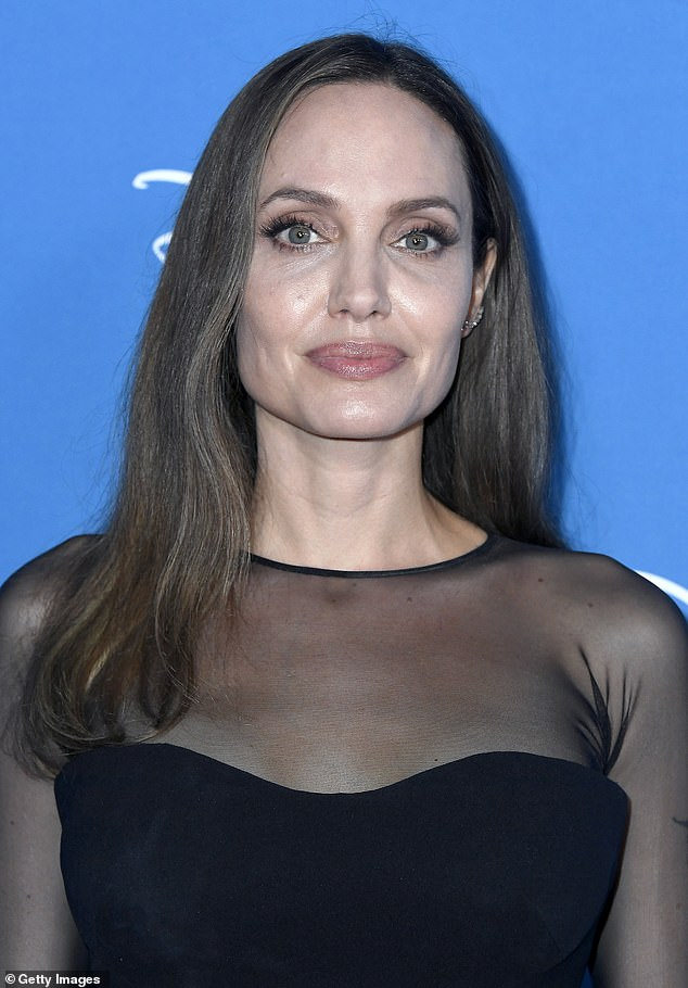 New YouTuber: Angelina Jolie, shown Saturday in Anaheim, California, started a YouTube channel earlier this month