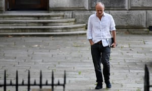 Dominic Cummings in Whitehall