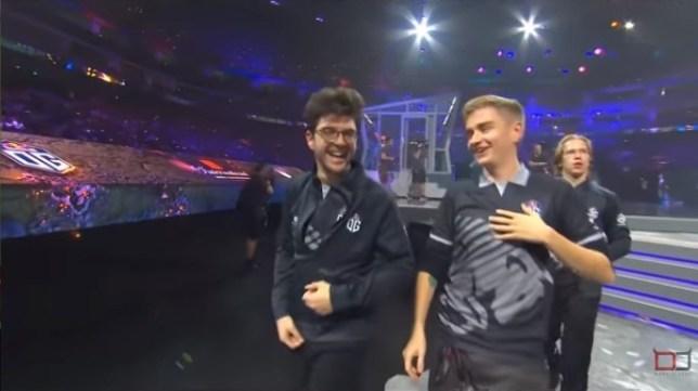 Team OG winning The International 2019