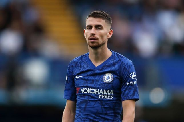 Frank Lampard says he's 'fortunate' to have a player of Jorginho's quality at Chelsea