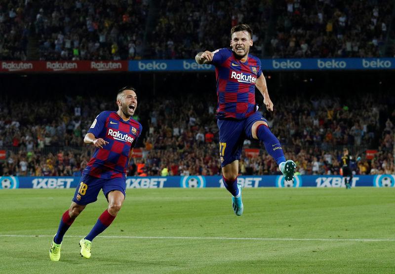 © Reuters. La Liga Santander - FC Barcelona v Real Betis