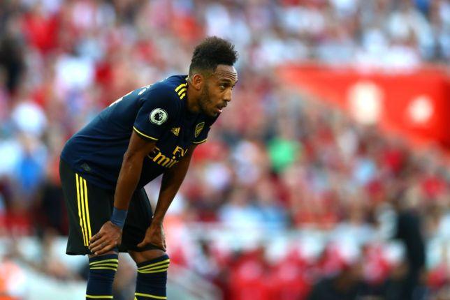 Pierre-Emerick Aubameyang registered a blank against Liverpool