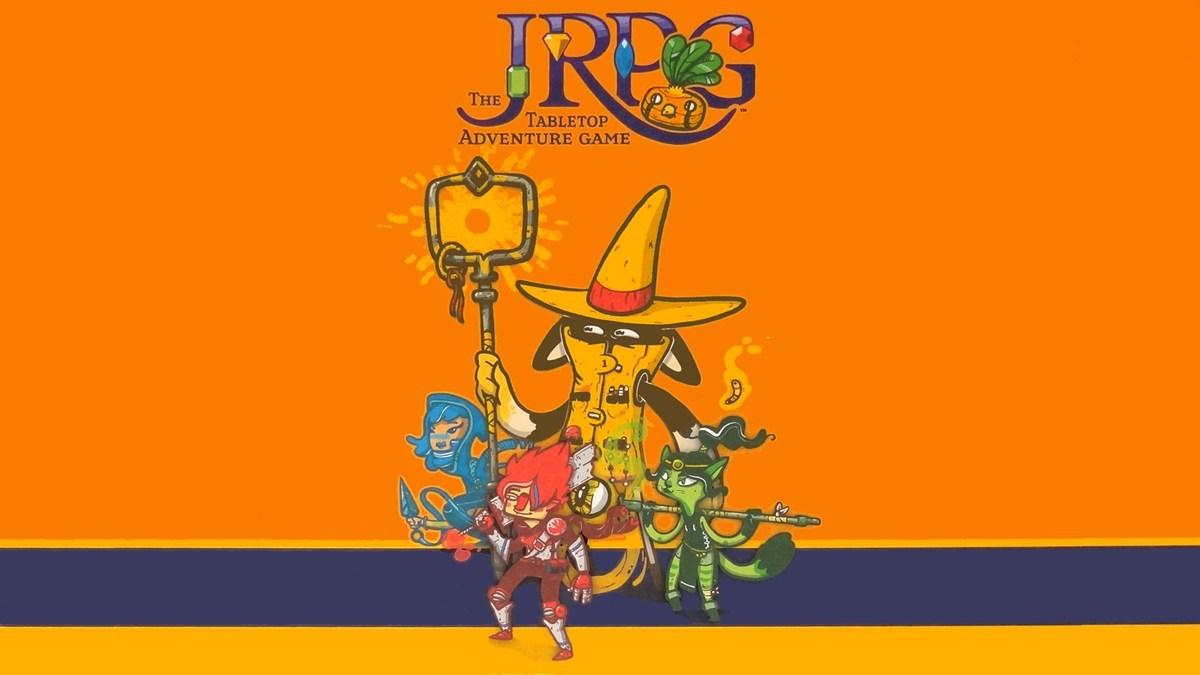 JRPG Tabletop Adventure Game cover