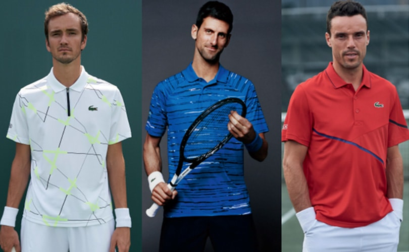 Lacoste to be the most popular brand at the U.S. Open