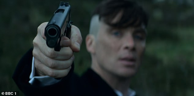 One to watch: Peaky Blinders announced its return after nearly two years away in typical style, blazing into Season Five with 'Black Tuesday'