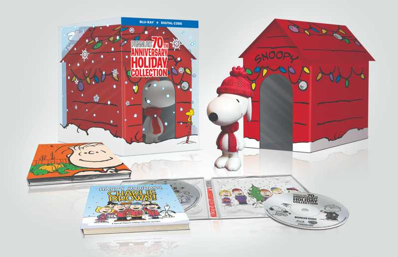 Peanuts 70th Anniversary Holiday Collection Giftset