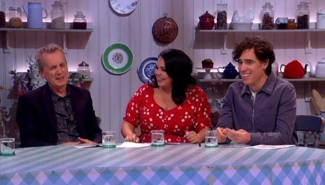 Scarlett Moffat shrugs off cruel trolls on Extra Slice Picture: Channel 4