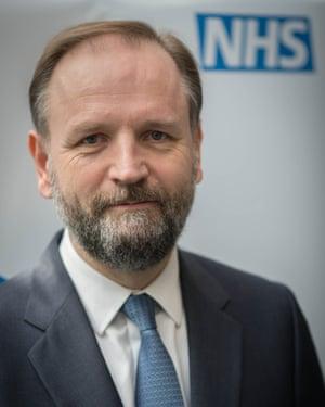 NHS England's chief executive, Simon Stevens