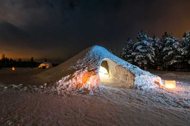 Airbnb Igloo Lucky Ranch