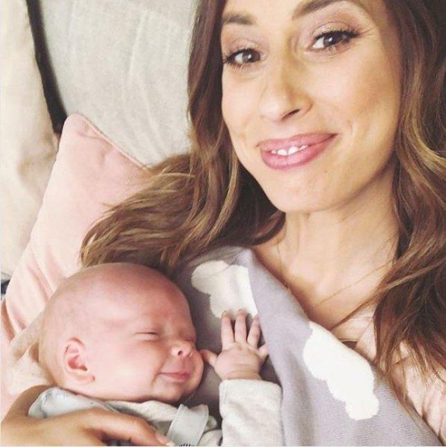Stacey Solomon got 'mum guilt' after giving birth to Rex
