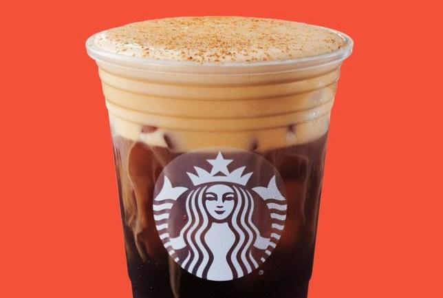 Cold brew pumpkin spice latte