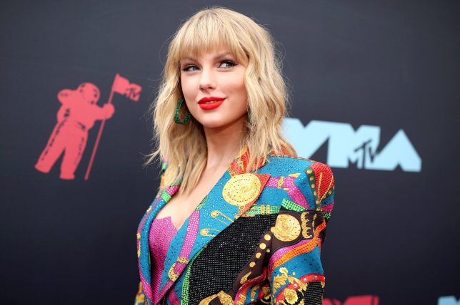 Mandatory Credit: Photo by Christopher Polk/Variety/REX (10369349i) Taylor Swift MTV Video Music Awards, Arrivals, Prudential Center, New Jersey, USA - 26 Aug 2019