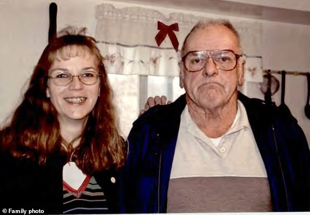 If a non-diabetic receives an overdose of insulin, like McDermott did, blood sugars can drop dangerously low. Pictured: McDermott, right, with his daughter, Melanie Proctor